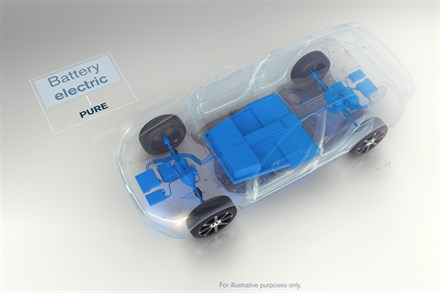 volvo battery electric
